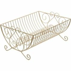 Home of Style Heritage Cream Metal Dish Drainer - 40x30x20cm from Homebase.co.uk