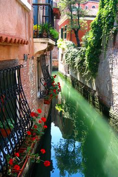 Canals of Venice | Magic Place (Italy) - (by Kennedy Lugo )