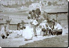 Kasımpaşa - 1870'ler  (Fotoğraf : Gülmez Biraderler)