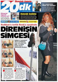 20dk (20 minutes) (2008 - 2009), Istanbul (Turkey) Newspaper Cover, Istanbul Turkey, Free