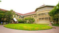 Be sure to see the Vimanmek Teak Mansion a one-of-a-kind experience in Bangkok.
