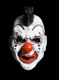 Slipknot Clown Mask Maske Halloween, Halloween Masks, Evil Clowns, Scary Clowns, Halloween Horror, Halloween 2020, Slipknot Clown Mask, Clown Maske, Pale Face