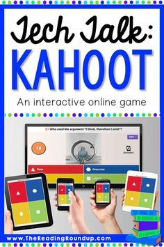 Do you use Kahoot! in your classroom? Check out this guide to get started and see how interactive games can help your students learn something new. Reading Games, Reading Resources, Teaching Reading, Teaching Tips, Teaching Strategies, Teaching Art, Back To School Hacks, School Ideas, Reading Intervention