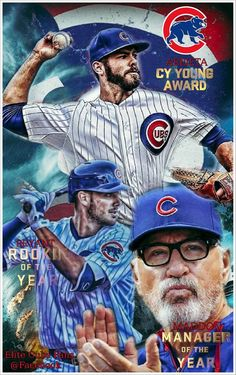 3 for 3 ~ Cubs Award Winners!