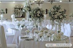 Flower Decorations, Table Decorations, Square Tables, Color Pallets, Wedding Centerpieces, White Flowers, Wedding Planner, Wedding Venues, Dream Wedding