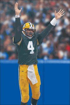 b1c548f2d9b Brett Favre Green Bay Packers NFL 7 McFarlane Packers Nfl, New York Jets,  National