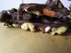 Vegan Nut (& Fruit) Bark  #VeggieStaples