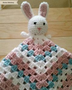 Your place to buy and sell all things handmade My Favorite Food, My Favorite Things, Crochet Bunny, My Etsy Shop, Blanket, Unique Jewelry, Handmade Gifts, Check, Pattern