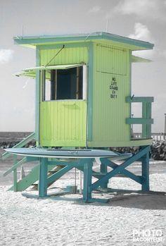 Lifeguard Hut, South Beach (Miami Beach, Florida)
