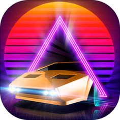3.99€ hoy gratis  Neon Drive - '80s style arcade game por Fraoula