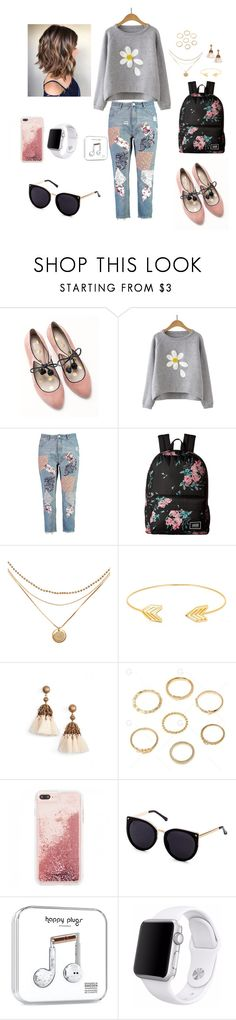 """Untitled #145"" by murraychickie on Polyvore featuring Boden, Boohoo, Vans, Lord & Taylor, Loren Hope and Apple"