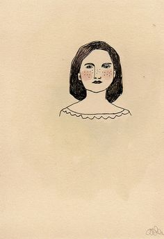 I love the restraint in this - Amanda Blake art