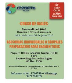Curso de Inglés Certificación TOEIC