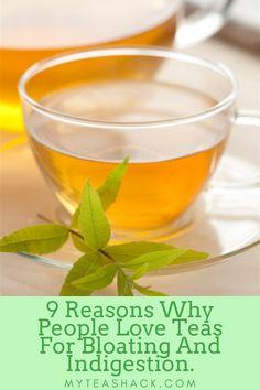 Tea For Bloating, Tea Benefits, Abdominal Pain, My Tea, Eating Habits, Drinking Tea, Home Remedies, Herbalism, Alcohol