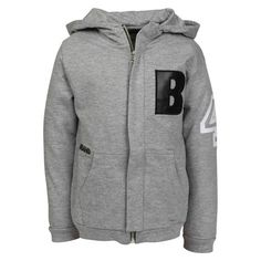 B Hoodie - Grey / The Brand - Söt by Sweden