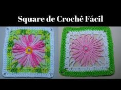 Crochet Granny, Pot Holders, Blanket, Rugs, Arts And Crafts, Diy And Crafts, Farmhouse Rugs, Granny Squares, Easy Crochet