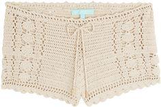 Melissa Odabash Macrame Shorts