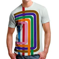 cc04cefb9 The Loop Stripe Unisex Tee - Transit Tees #chicagogifts #chicago #tshirt  Chicago Loop