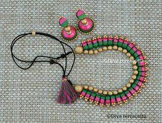 Funky Jewelry, Paper Jewelry, Polymer Clay Jewelry, Clay Earrings, Jewelry Art, Antique Jewelry, Handmade Jewelry, Jewelry Design, Jewelry Ideas