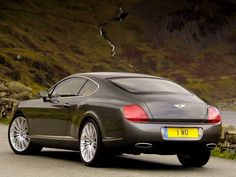 Bentley Coupe -- Rear View