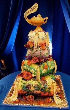 Magic Lamp cake by Rosebud Cakes by vera