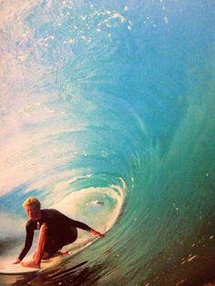 John John Florence catches a wave #surf #surferdude #ocean