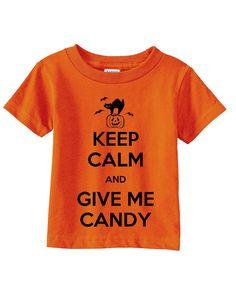 Keep Calm Halloween  Toddler Halloween Costume  by MyBabyLuxe, $13.00