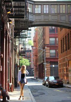 Street style – Staple Street, NYC #tribeca #nyc #nycshopping #streetstyle