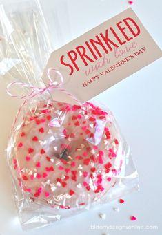 """Sprinkled with love"" valentine!"