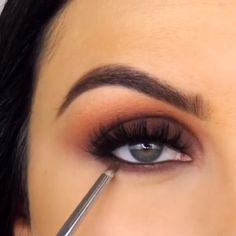 Eye Make up - Welcome Cute Makeup, Glam Makeup, Makeup Inspo, Makeup Inspiration, Beauty Makeup, Eyebrow Makeup, Skin Makeup, Eyeshadow Makeup, Make Up Looks