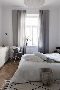 Our bedroom - via Coco Lapine Design blog
