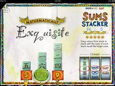 Math doodles - App - jugar i treballar diferents aspectes matemàtics