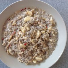 Mandel-Chia-Porridge