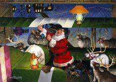 Gallery.ru / Фото #23 - Tom Newsom Santas - MontanaBY