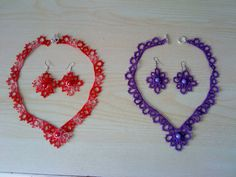 Tatted jewelry sets