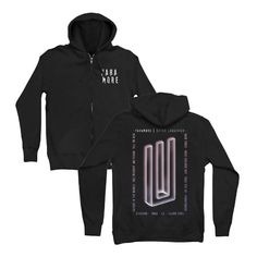 For everything Paramore check out Iomoio Paramore Merch, House Of Wolves, The Amity Affliction, Black Zip Ups, Band Merch, Zip Hoodie, Cool Bands, Diy Fashion, Adidas Jacket