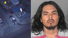 !! Police arrested kidnapping suspect Jose Eduardo Gaxiola Caro after a pursuit on Wednesday, Sept. 28, 2016. ~ This worthless ILLEGAL maggot POS kidnapped a woman from a store where she was working, in broad daylight, and took her to a cemetery where he planned to bury her ALIVE! This scum was NOT her boyfriend, but a dangerous stalker! May he ROT his ILLEGAL pathetic ass in prison until the devil takes him where his ILLEGAL ass belongs! !!