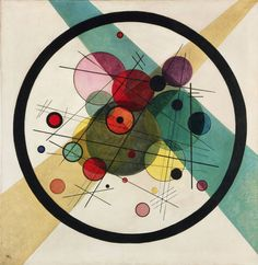 Circles in a Circle//(1923)// Wassily Kandinsky