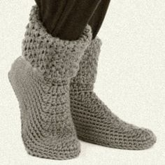 35 Best Crocheted Slippers Images Crocheted Slippers Slippers