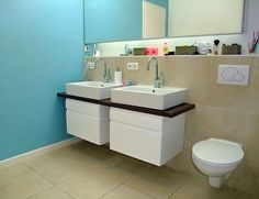 ikea cabinets used for the bathroom