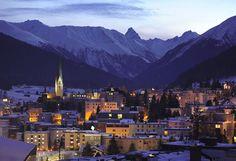 Davos ski resort, Switzerland Spent 2 weeks here skiing when I was 16. Gorgeous!!!