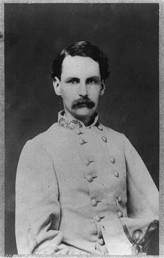 CSA Brigadier-General Francis Redding Tillou Nicholls. He would take part and be wounded in Jackson's Valley Campaign and the Battle of Chancellorsville. After the war, he served two terms as Governor of Louisiana..(MoC)