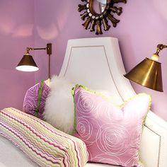 Lavender Girl's Bedroom