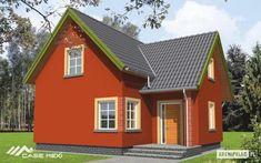 Proiecte de case cu doua dormitoare. Locuinte accesibile pentru familii mici - Case practice