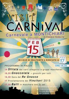 Il #Carnevale si festeggia domenica 15 febbraio 2015 a Montichiari @gardaconcierge