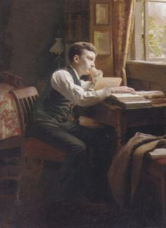 View past auction results for Carl Thomsen - The Young poet