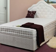 Sweet Dreams Wellbeing Coolzone Mattress - a quality mattress that features a soft damask cover made from Dacron®, a unique, fast-drying fibre that lets you enjoy cool, comfortable sleep as well as deep layer of memory foam, together with a zoned 800 pocket spring system.