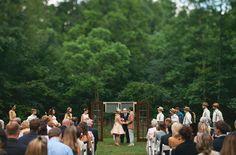 Vintage Outdoor Wedding in Tennessee: Amanda + Dan