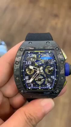 Shop the limited edition Richard Mille RM 011 Anniversary Felipe Massa, LIKE NEW condition pre-owned watch in better price.Richard Mille LIKE Fancy Watches, Expensive Watches, Luxury Watches For Men, Cool Watches, Men's Watches, Sport Watches, Richard Mille, Amazing Watches, Beautiful Watches