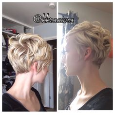 How to curl a pixie